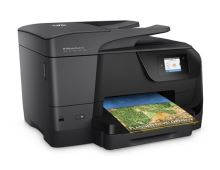 HP All-in-One Officejet Pro 8710 (A4, 22/18 ppm, USB 2.0, Duplex, Ethernet, Wi-Fi, Print/Scan/Copy/Fax)