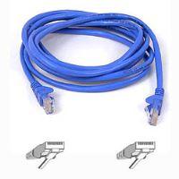 Belkin kabel PATCH UTP CAT5e 50cm modrý, bulk Snagless