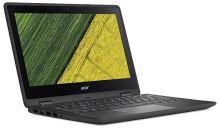 """Acer Spin 1 (SP111-31-C5ZR) Celeron N3450/4 GB+N/A/eMMC 32GB+N/HD Graphics /11.6"""" FHD IPS dotykový/W10 Home/Black, NX.GMBEC.001"""