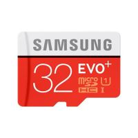 Samsung Micro SDHC karta 32GB EVO Plus + SD adaptér, MB-MC32GA/EU
