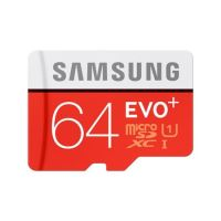 Samsung Micro SDXC karta 64GB EVO Plus + SD adaptér MB-MC64GA/EU