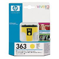HP C8773EE Ink Cart No.363 pro PS 8250, 6ml, Yellow