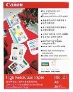 Canon fotopapír HR-101 - A3 - 106g/m2 - 100 listů - matný
