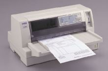 EPSON jehličková  LQ-680Pro - A4/24pins/413zn/1+5kopii/LPT, C11C376125