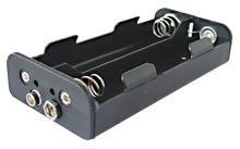 Pouzdro baterie R14x4  za sebou,vedle sebe