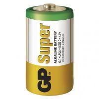 Alkalická baterie GP Super D (LR20), 1013402000