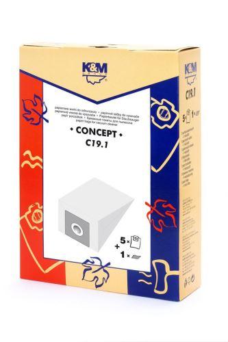 SÁČKY C19.1 (nahrada UNI-BAG/micro) K&M