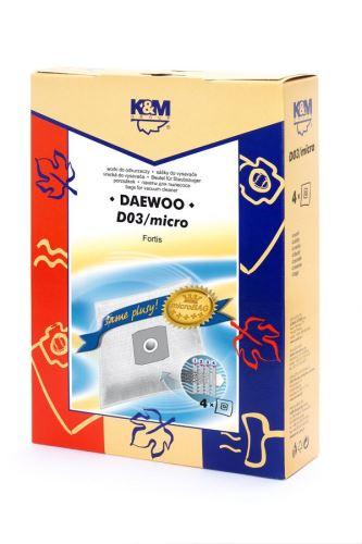 SÁČKY D03/micro (5+0) K&M