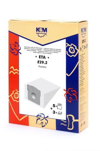 SÁČKY E29.3 ETA 450 PROXIMO K&M
