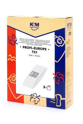 SÁČKY T23 PROFI 1, PROFI 3 (3+0) K&M