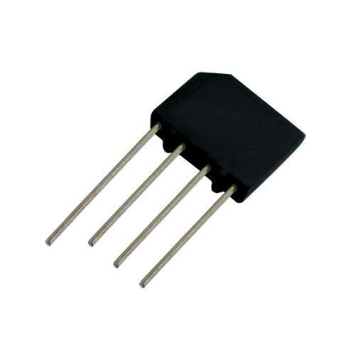 Můstek diod.  2A/400V   KBP04   plochý
