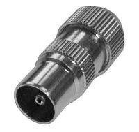 Konektor anténní přímý kabel kov