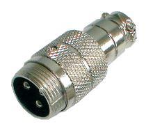 Konektor MIC kabel kov 3PIN šroubovací