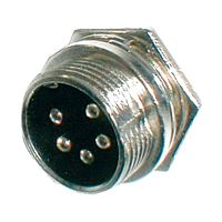 Konektor MIC panel kov 5PIN šroubovací