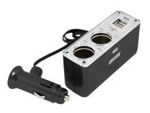 Autoadaptér LTC 2x USB 2x 12V