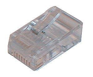 Konektor telefonní kabel 6p-6c RJ12