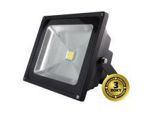 LED venkovní reflektor, 30W, 2100lm, AC 230V, černá