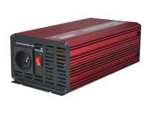 Měnič napětí CARSPA P1000 12V/230V 1000W čistá sinusovka USB