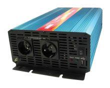 Měnič napětí CARSPA P2000 12V/230V 2000W čistá sinusovka