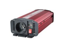 Měnič napětí CARSPA CAR600 12V/230V 600W USB