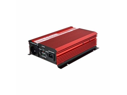 Měnič napětí CARSPA UPS1000 12V/230V 1000W + UPS + nabíječka
