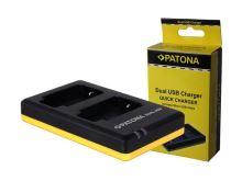 Nabíječka CANON LP-E17 USB PATONA PT1939