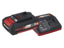 Nabíječka a baterie - set Power-X-Change 18V/2,0Ah pro aku přístroje Einhell Accessory STARTER KIT