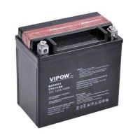Baterie motocyklová 12V 12Ah Vipow YTX14-BS