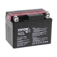 Baterie motocyklová 12V  3Ah Vipow YTX4L-BS