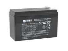 Baterie olověná 12V   7.5Ah MOTOMA (konektor 4,75 mm)