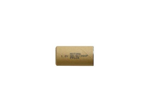 Baterie nabíjecí NiMH SC 1,2V 1900mAh MOTOMA