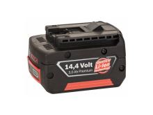 Baterie aku BOSCH 3000mAh 14,4V - HD, ORIGINÁL! zásuvný akumulátor W-B, 3165140546164