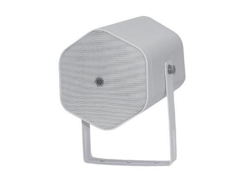 Reproduktor SHOW NPJ-5W, bílý, 20W/8?/70V/100V, venkovní evakuační projektor