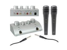 Karaoke set se 2 mikrofony