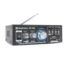 Zesilovač HiFi 2x 40W FM / USB / SD