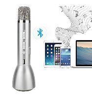 Karaoke mikrofon BLUETOOTH ELJET BASIC stříbrný