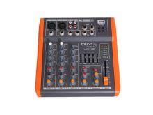 Pult mixážní IBIZA MX401 čtyřkanálový