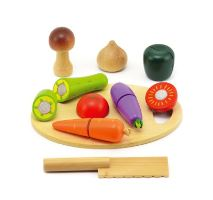 Dětská zelenina s prkénkem TEDDIES 16ks