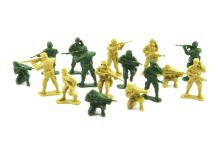 Sada vojáků TEDDIES ARMY II 2 barvy CZ design 18x19.5cm