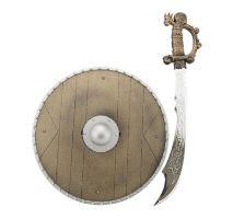Dětský rytířský meč se štítem TEDDIES 40 cm