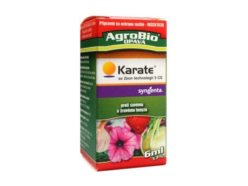 Přípravek proti hmyzu AgroBio Karate se Zeon technologií 5 CS 6 ml