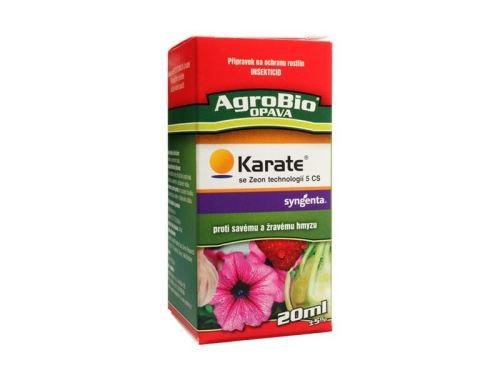Přípravek proti hmyzu AgroBio Karate se Zeon technologií 5 CS 20 ml