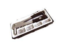 Kleště nýtovací + sada nýtů 60ks pro trhací nýty 2,4-3,2-4,0-4,8mm hliník EXTOL CRAFT
