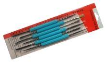 Sada háčků,kartáčků,jehel TIPA ZD-151 6ks