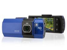 "Kamera do auta COMPASS Full HD 2,7"" modrá"