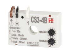 Časový spínač CS3-4B pro ventilátory se zpožděním bez nulového vodiče