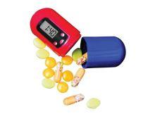 Zásobník na léky PB01 s časovačem a alarmem