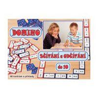 Vzdělávací hra Domino sčítání a odčítání