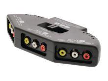 Přepínač 3x AV vstup - 1x AV výstup VALUELINE VLVSW2403