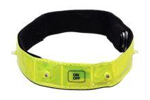 Reflexní pásek svítící 4LED COMPASS 01587